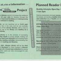 """""""Things are changing at Marple Library"""" Leaflet"""