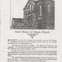 Hawk Green Methodist : 1877 - 1927