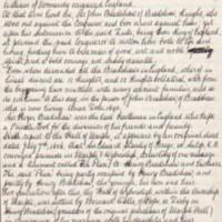 History of Bradshaw Family : Hugh Fletcher