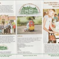 Promotional leaflet and flyer for Mellor Cathedral Home : 2012