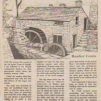 Spade Mill : Newspaper Cuttings : 1827 - 2000