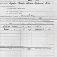 Application for Tenancy of Council House : 1948