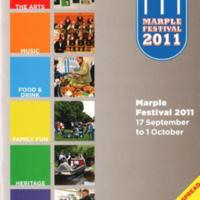 Material on Marple's Festival from 2007