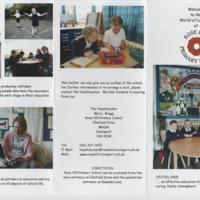 Leaflet for Rose Hill Primary School