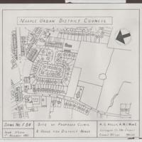 Plan of M.U.D.C. Clinic 1951 : Never built