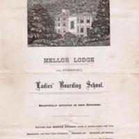 Mellor Lodge Ladies' Boarding School Prospectus