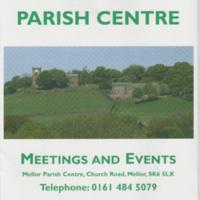 Brochure with inserts for the Parish Centre : 2002