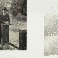 Local Personalities of Marple : Cheshire Life Article : 1972
