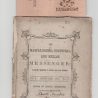 Marple Bridge, Compstall &amp; Mellor Messenger 1867<br /><br /> Diary Calendar 1936