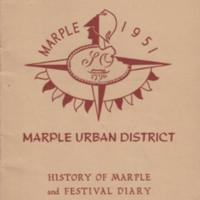 Festival of Britain 1951 : Marple Urban District Celebrations