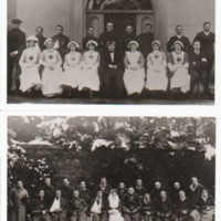 Photographs Brabyns Hall Military Hospital : c 1917