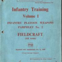 The War Office : Infantry Training Pamphlet : Fieldcraft : 1948