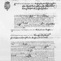 Intestate Document for Thomas Lowe 1773