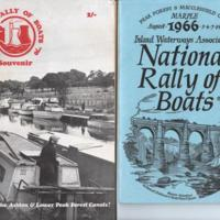 Booklets : Rally Programmes 1996 - 1970