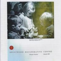 Booklet ; Brentwood Recuperative Centre