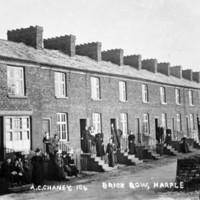 Brick Row & Church Road,  Marple