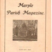 Marple Parish Magazine : 1915, 1917 & 1918