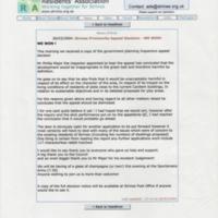 Strines Residents Association Printout : 2004 : Appeal Decision