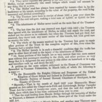 Turnpike Trusts 1854 : Tollgates at Marple & Mellor