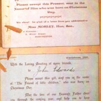 Christmas Cards, Notelets and Misc. Illustrated Pictures