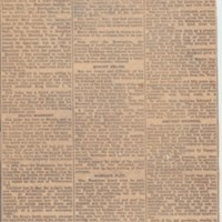 Miscellaneous  Newspaper Cuttings : 1842 - 2002