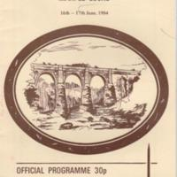 Booklet : Tenth Anniversary Boat Rally Marple Locks : 1984