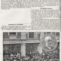 Newspaper Articles relating to the  Co-operative Industrial Society.