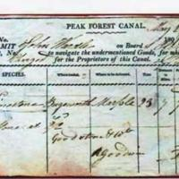 Boat Permit for Peak Forest Canal