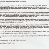 Email correspondence 2009 re Mellor Church Internments