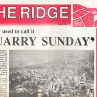 The Ridge Newspaper : 1991- 1993