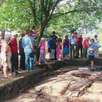Mellor Archaeological Trust : Draft Text & Drawings for Open Days.