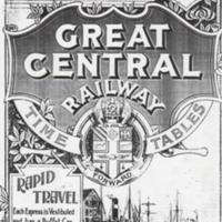 Timetable for the Great Central Railway 1903