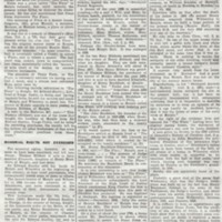 Newspaper article on forthcoming demolition of Peace Farm :  1935