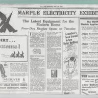 Electricity Exhibition : 1937