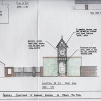 Bruce's Clocktower Renovation Letter & Drawing : Strines Mill Pond