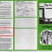 Top Lock to Aqueduct Map & Guide 1991