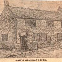 Notes & Drawing of Marple Grammar School