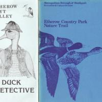 Booklets and Leaflets : Etherow County Park : Various Dates