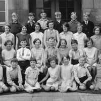 Black & White Photograph of Ludworth School Class of 1931