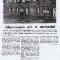 Newspaper cutting relating to Property in Marple area from 1968 to 2002.