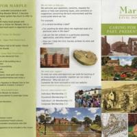 Leaflet : Marple Civic Society