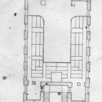 Plan of Gallery as proposed in 1874