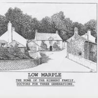 Drawings/Photographs of Low Marple : Dr Hibberts House