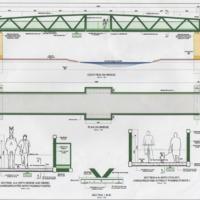 Chadkirk Bridge : Proposed design & location : 2009