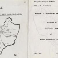 Leaflets : Geology & Topography & Historical Trail : 1975 & 1981