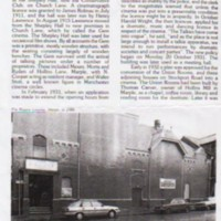 The Regent Cinema : Magazine Articles