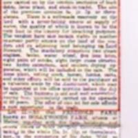 Newspaper Auction Notice : Holly Head Bleachworks : 1828