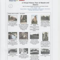 Various pages taken from The Marple Website