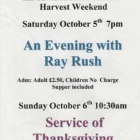 Selection of Posters for Methodist Church Events