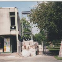 Installation of Lift at Marple Library : 1999